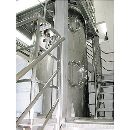 Spray Dryer capable of using organic solvents