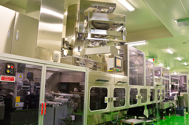 High speed machines packing at 6,000 tablets/min.